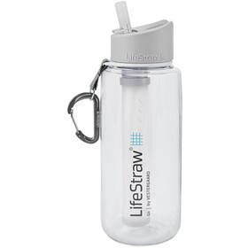 LifeStraw Go Water Filter Bottle 1000ml, transparente